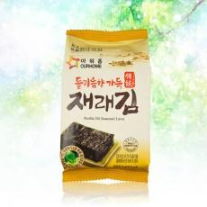 【韓璧食府】OURHOME經典烤海苔72入